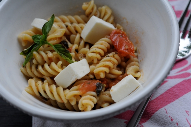 Pasta Caprese | The Kitten Kitchen